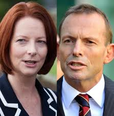 julia gillard and tony abbot