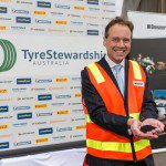 Minister Greg Hunt at Launch of Tyre Stewardship Australia